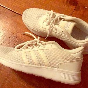 Shoes - Adidas shoes!! Cloud foam footbed.